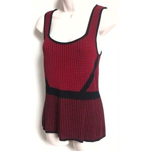 🆕 Fontana knit sleeveless red top camisole…